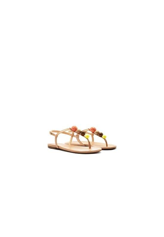 Sandalia Salto Rasteiro Shoes