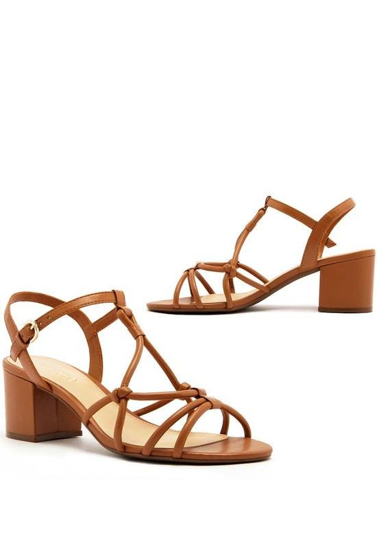 Sandalia Salto Medio Shoes