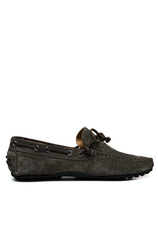 Drive Mocassin Lace Up Suede Shoes