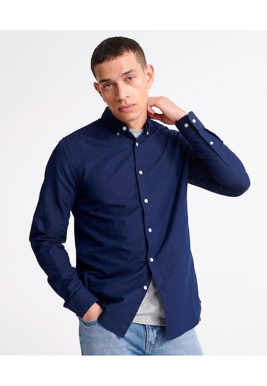 Edit Linen Button Down Shirt