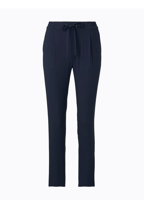 Trousers With Piped Stripes