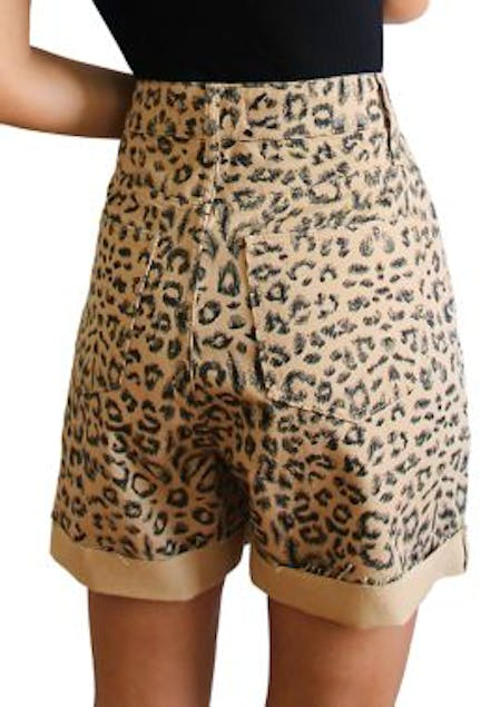 FREE PEOPLE - Printed Dogtown Cut Off Shorts