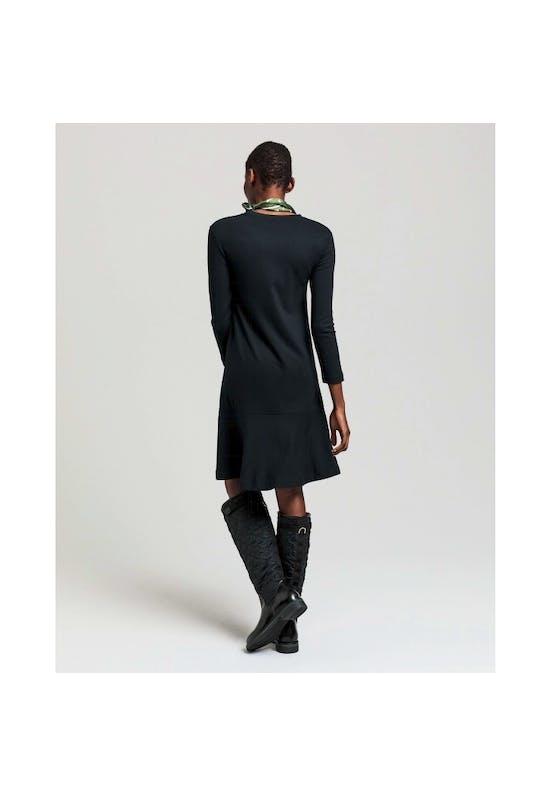 Flounce Detail Dress