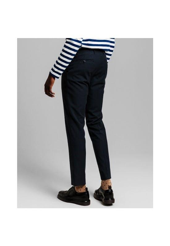 Slim Two Tone Pant