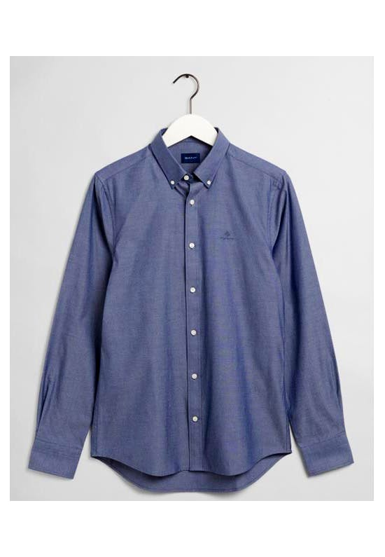 Slim fit pinpoint oxford shirt