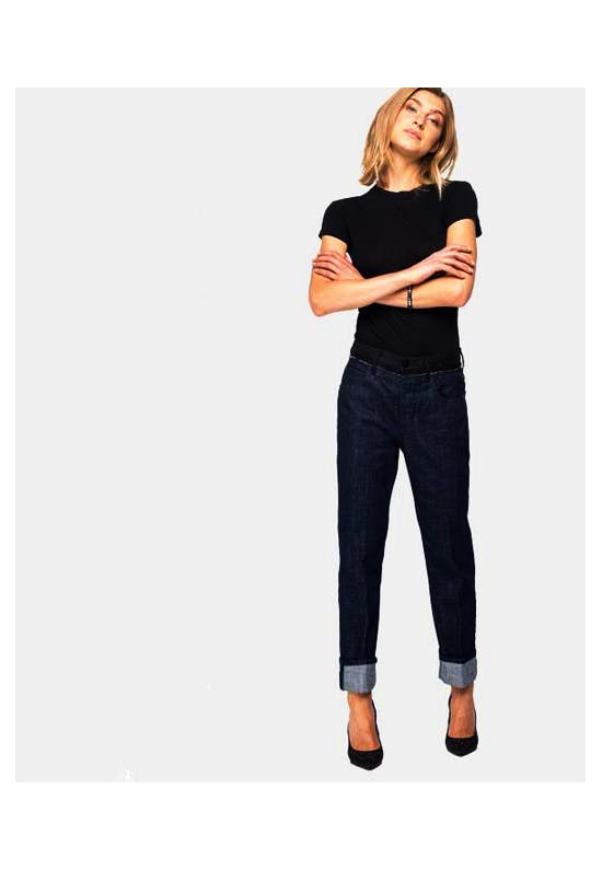 Straight Fit High Waist Atelier Jeans