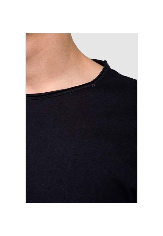 Long Sleeved Raw Cut T-Shirt