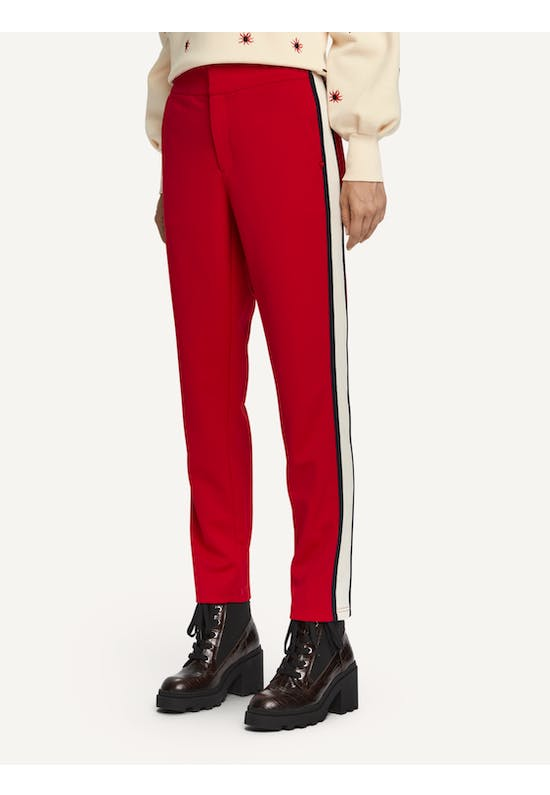 Scotch & Soda Tailored sweat pants with sporty details
