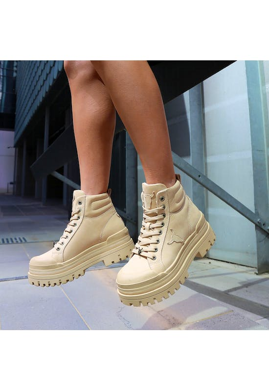 Disaster Leather Boots