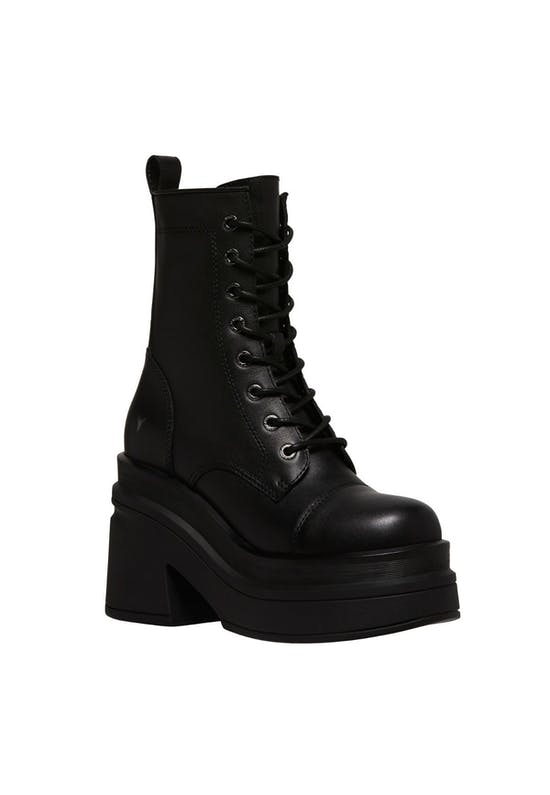 Mystify Leather Boots