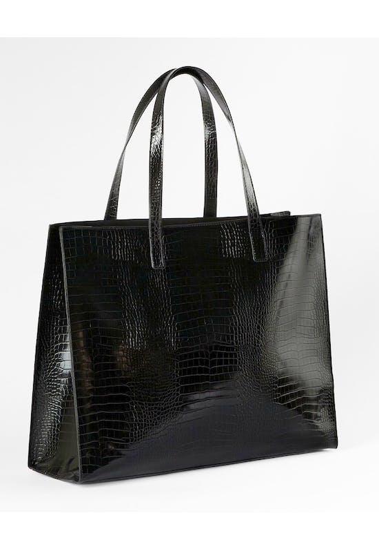 Croc Detail EW Icon Shopper Bag
