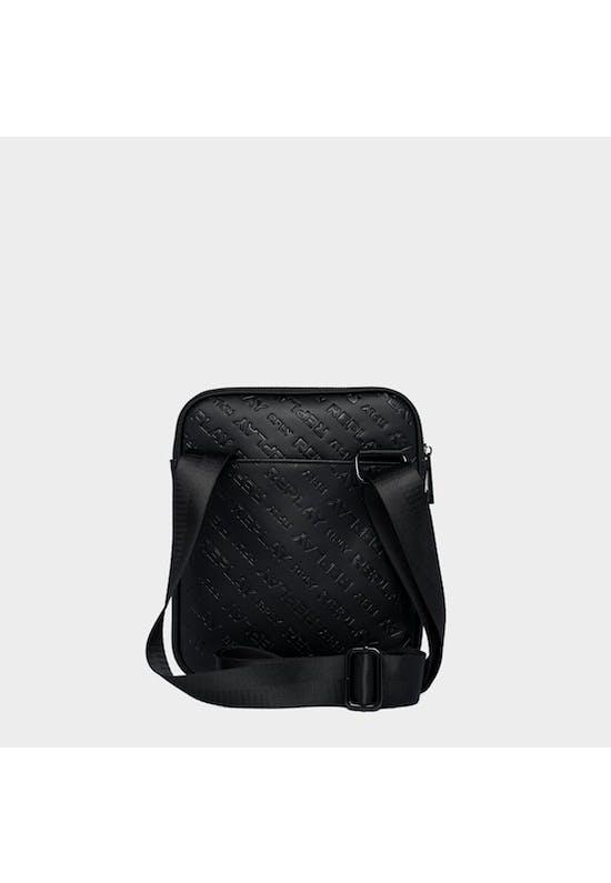 All-Over Logo Detail Crossbody Bag