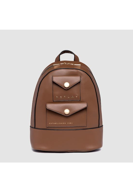 Backpack With Double Pocket