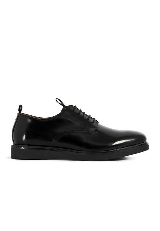 Calverston Shine Black Shoes