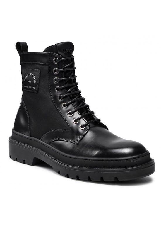 Maison Karl Logo Boots