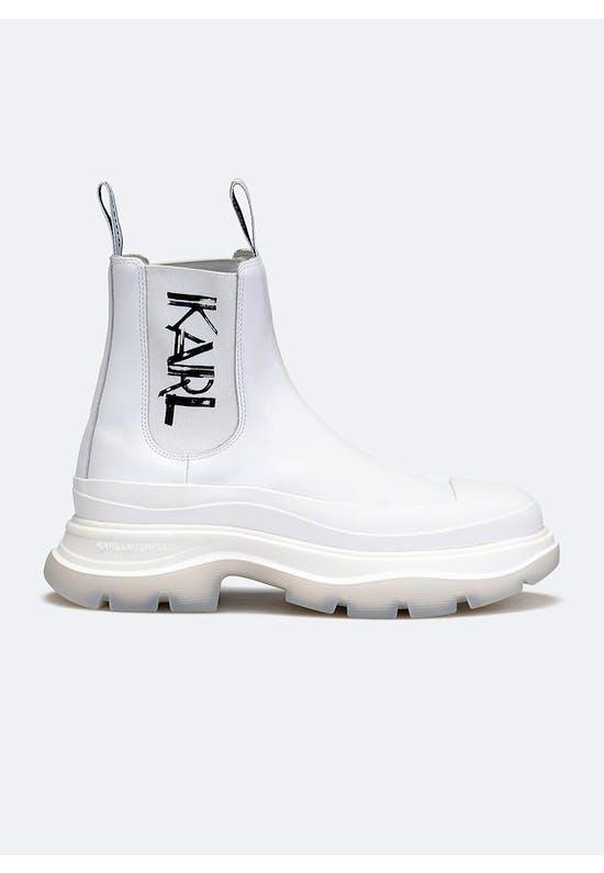 Luna Art Deco Gore Boot