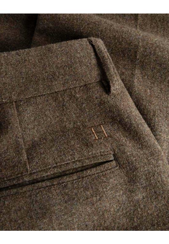 Regular Wool Pants