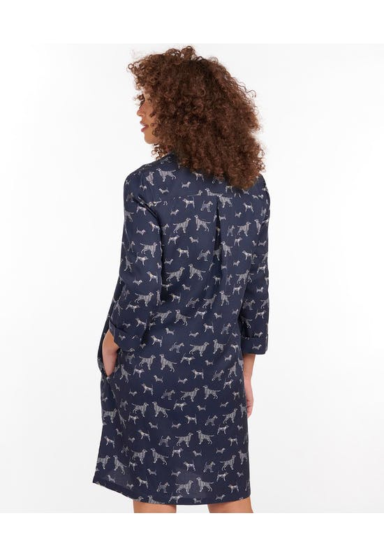 Printed Seaglow Dress