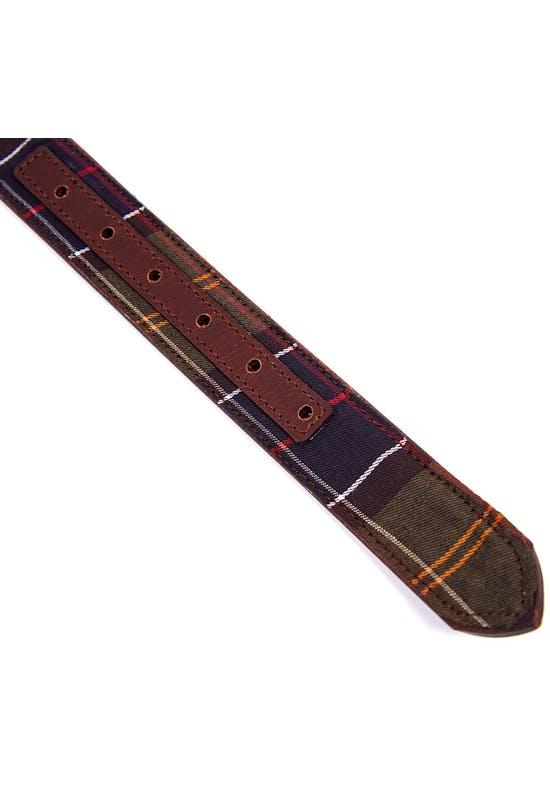 Reversible Tartan Leather Belt
