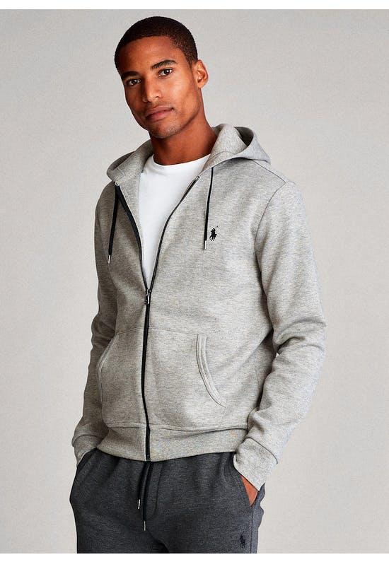 Double-knitted Full-Zip Hoodie