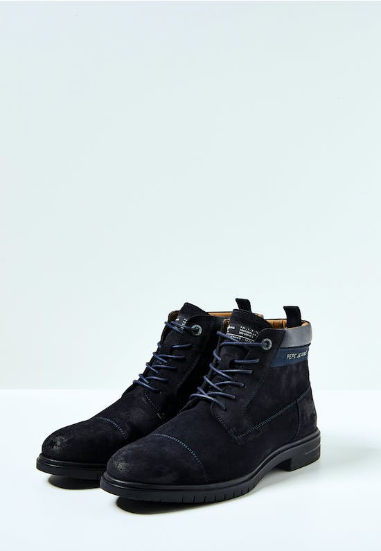 Thomas Split Leather Ankle Boots